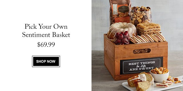 Pick Your Own Sentiment Basket