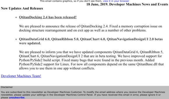 developer machines: 18 June, 2019  Developer Machines News