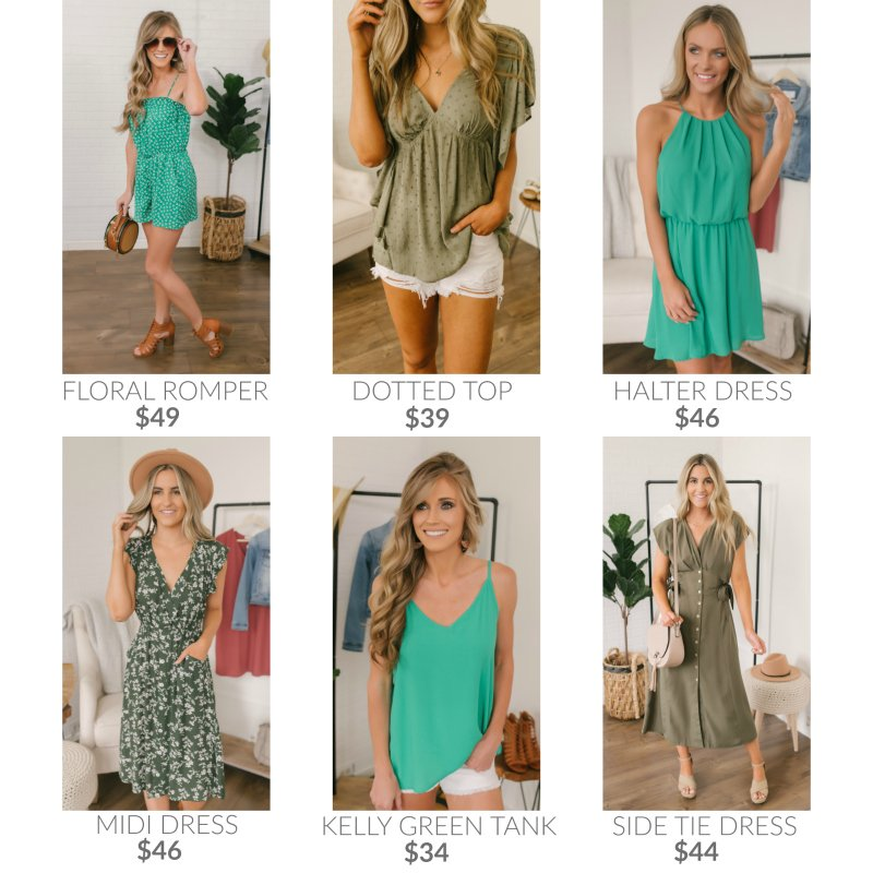 green summer styles