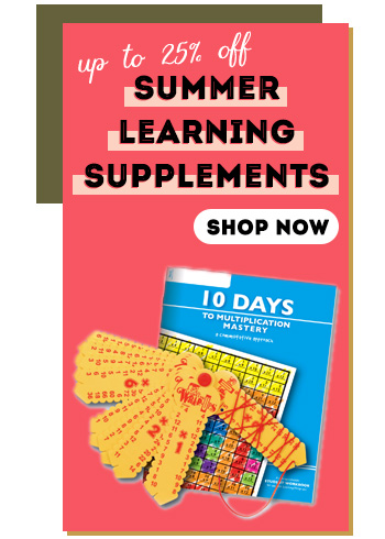 Summer Learning Supplements - up to 25% off