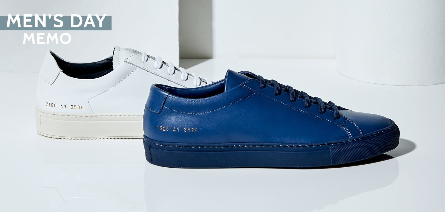 Common Projects & More High-End Shoes