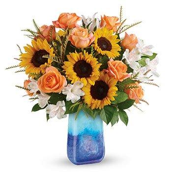 Teleflora's Sunflower Beauty Bouquet