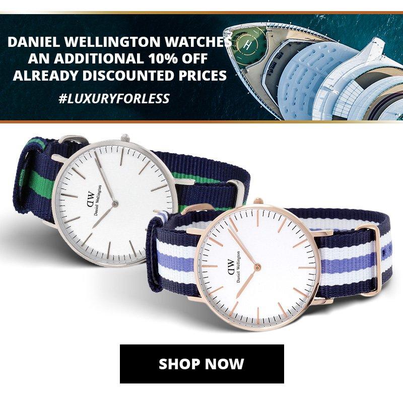 Daniel Wellington Men's and Ladies Watches
