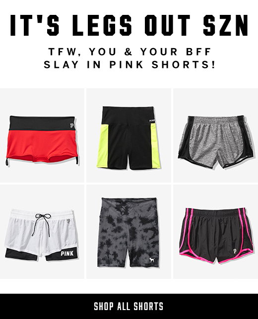 Legs Out SZN + SHOP SHORTS
