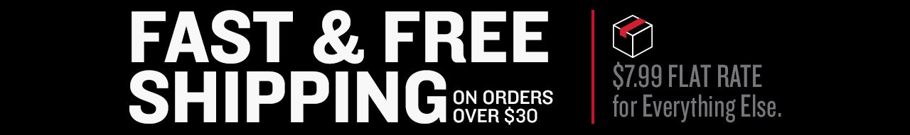 Free Shipping on orders over $30