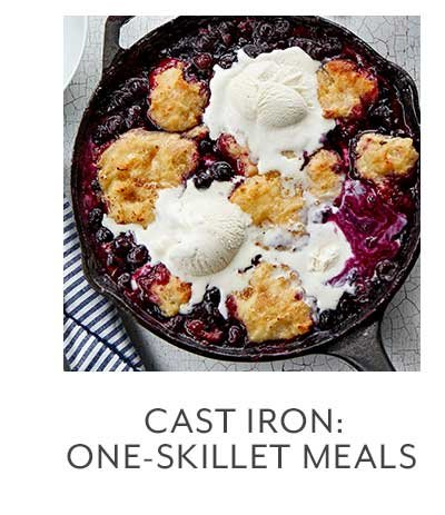 Class: Cast Iron: One-Skillet Meals