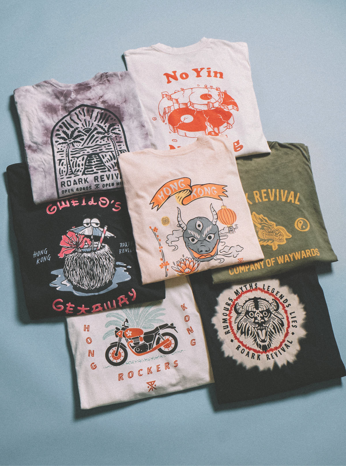 Roark's Favorite Tees FOR THE UNKNOWN ROAD AHEAD