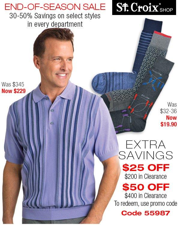 Shop Clearance Savings Now!