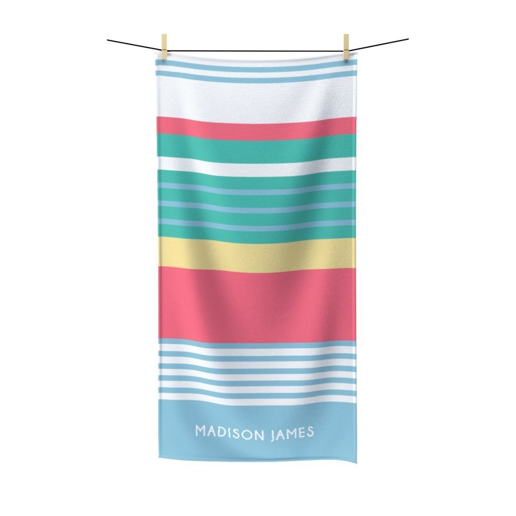 Image of Chic Stripes Beach Towel