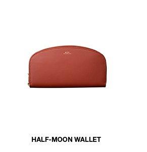 Half-moon wallet