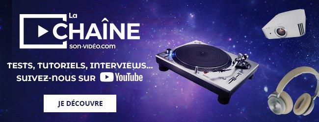 La chaîne Son-Vidéo.com. Tests, tutoriels, interviews... Suivez-nous sur Youtube. Je découvre.