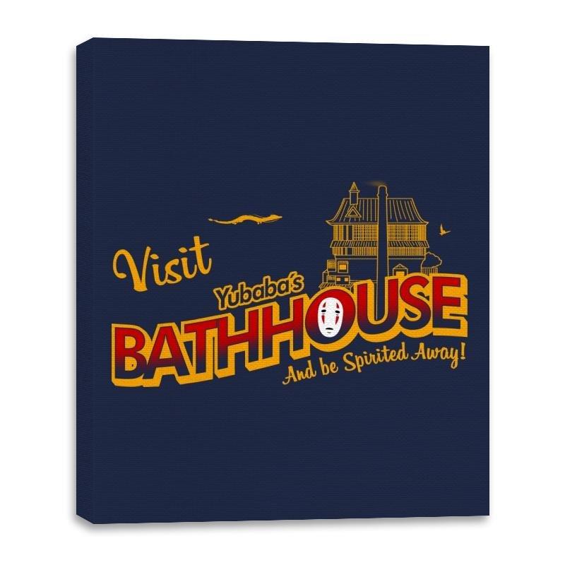 Image of Visit the Bathhouse - Canvas Wraps
