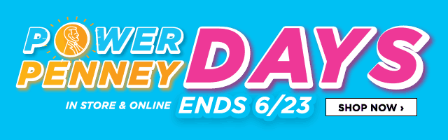 Power Penney Days. In Store and Online. Ends June 23. Shop Now