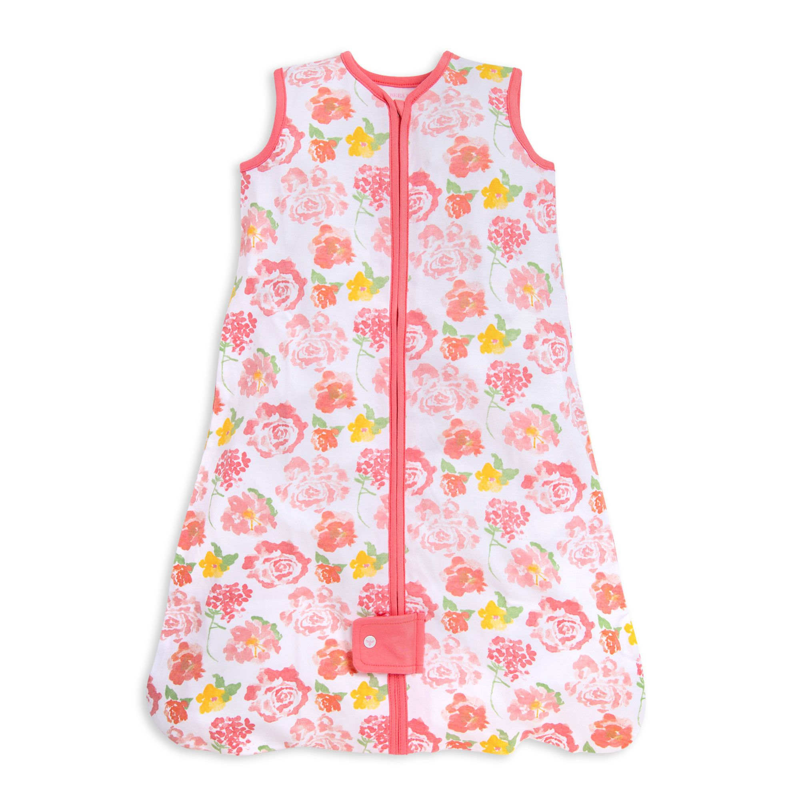 Beekeeper™ Rosy Spring Floral Organic Baby Wearable Blanket