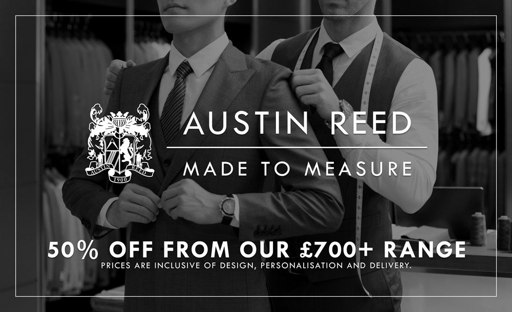 Austin Reed Austin Reed Made To Measure Offer Milled
