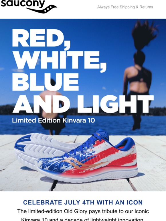 bf5fb25b Saucony: Old Glory Kinvara 10 🇺🇸 | Milled