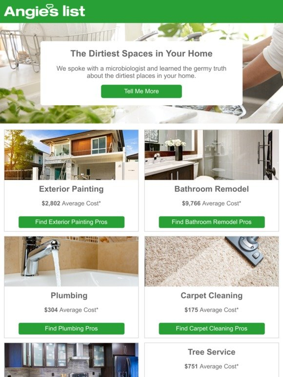 Angie S List The Dirtiest Spaces In Your Home 5 Will
