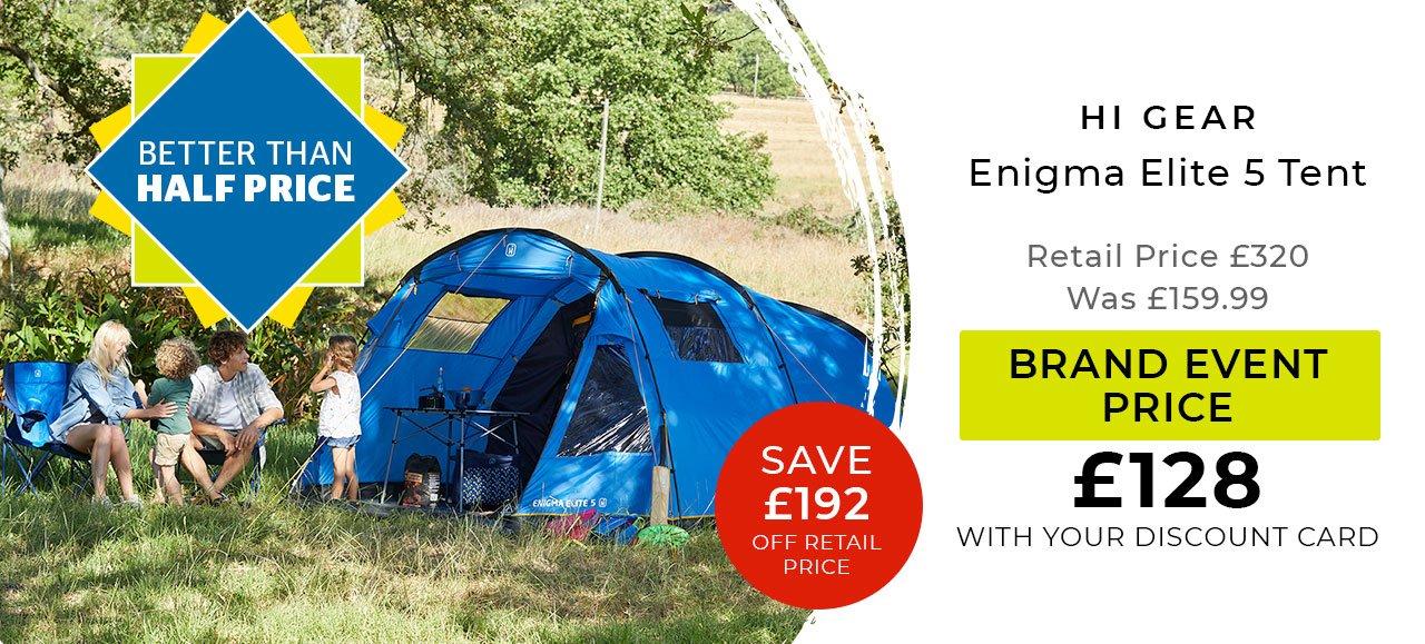 Hi Gear Enigma Elite 5 Tent