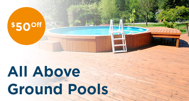 Above Ground Pool Sale!