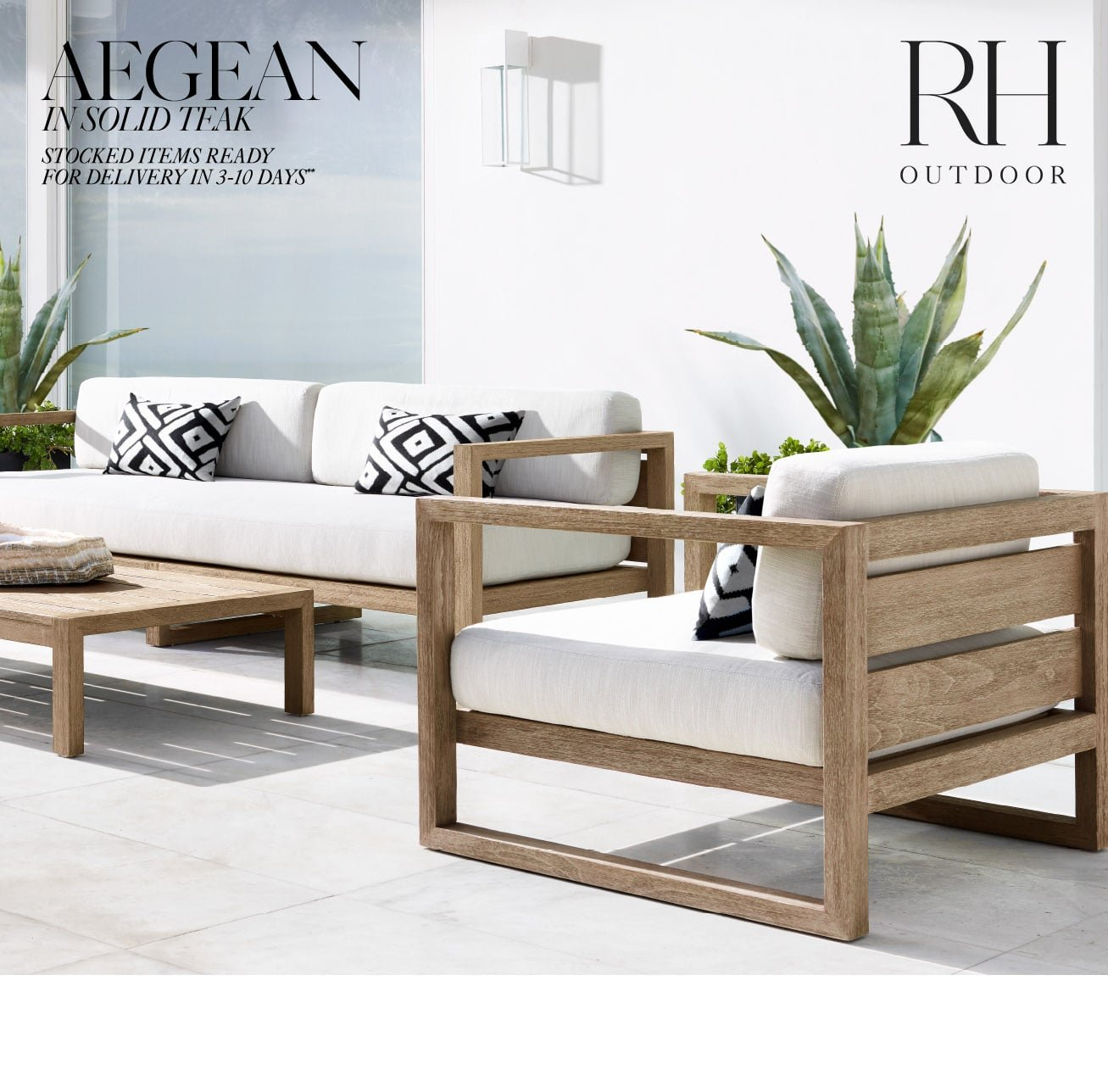 Fabulous Restoration Hardware The Aegean Outdoor Collection In 2 Download Free Architecture Designs Scobabritishbridgeorg