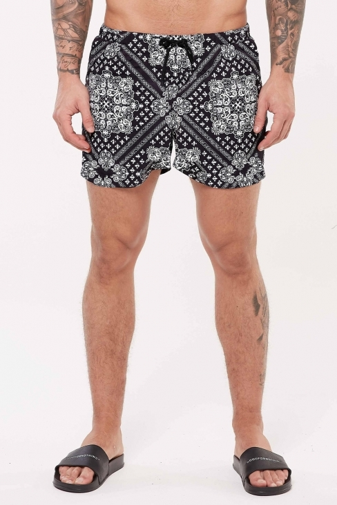 Paisley Swim Shorts