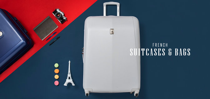 French Suitcases & Bags