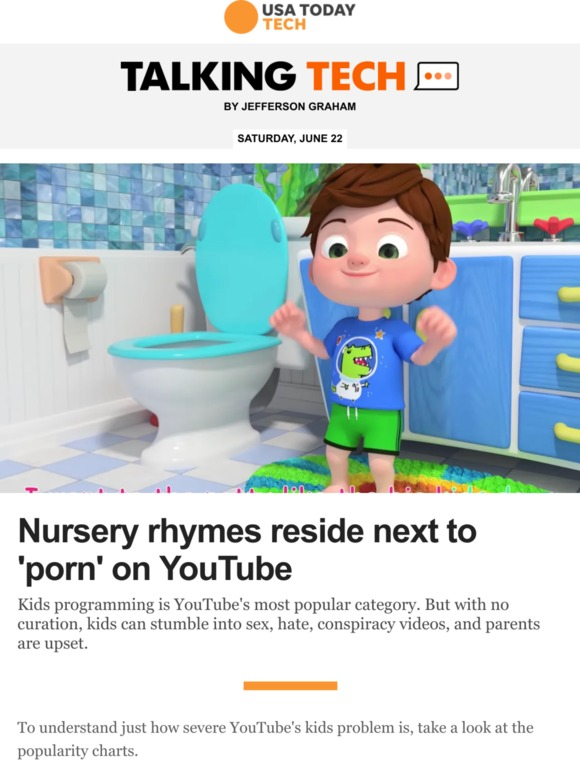 USA TODAY: Why YouTube's kids problems are so serious | Milled