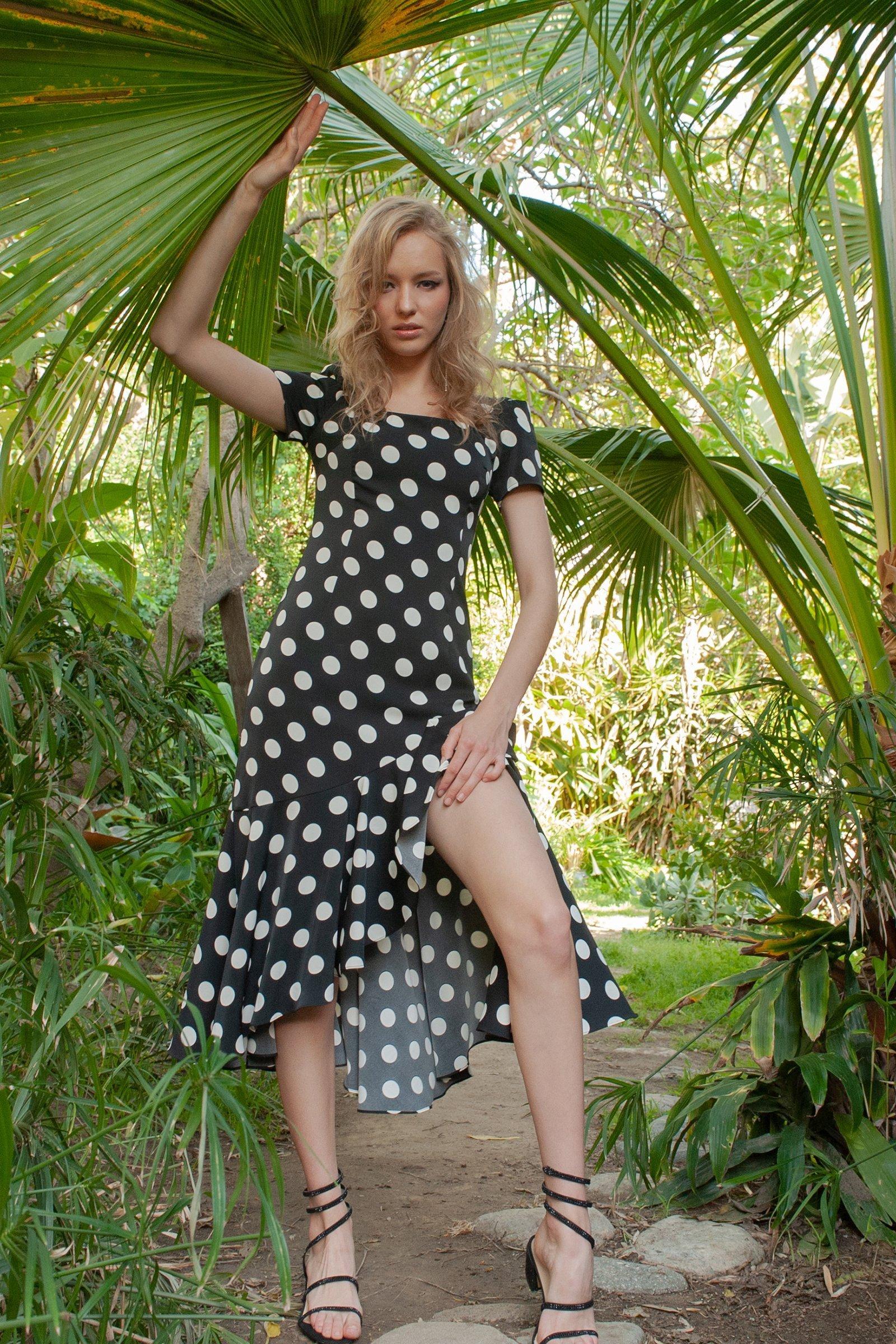 Image of ADA POLKA DOT DRESS
