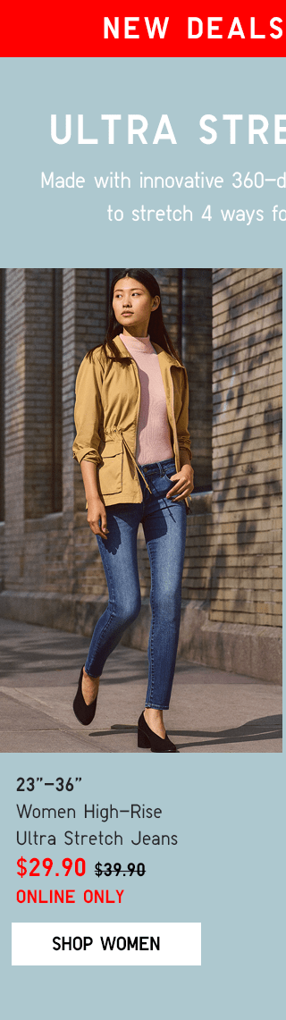 BANNER PDP1 - WOMEN HIGH-RISE ULTRA STRETCH JEANS