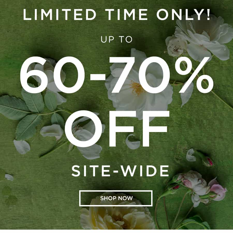 UP TO 60-70% OFF SITEWIDE