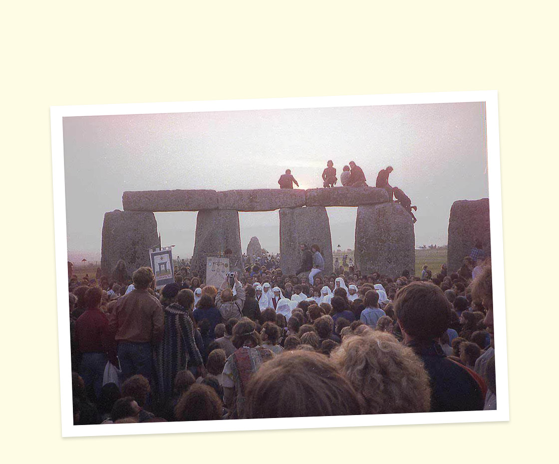 THROUGH THE MAGPIE EYE: THE 1984 STONEHENGE FREE FESTIVAL