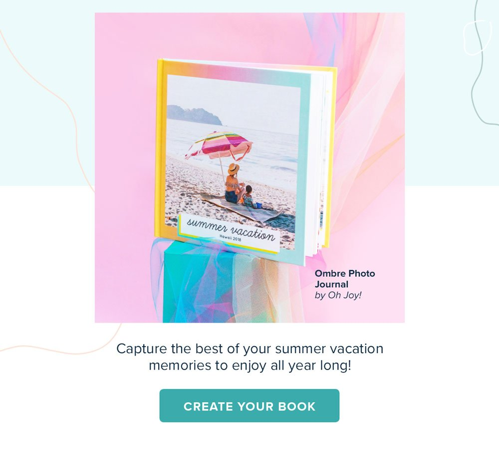 Summer Favorites - Ombre Photo Journal by Oh Joy! - Create Your Book