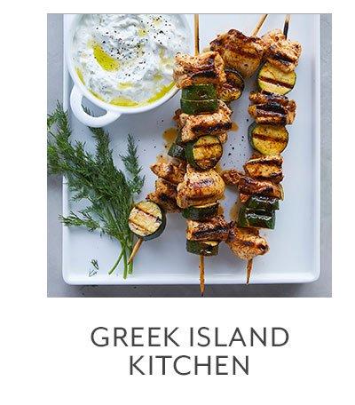 Greek Island Kitchen
