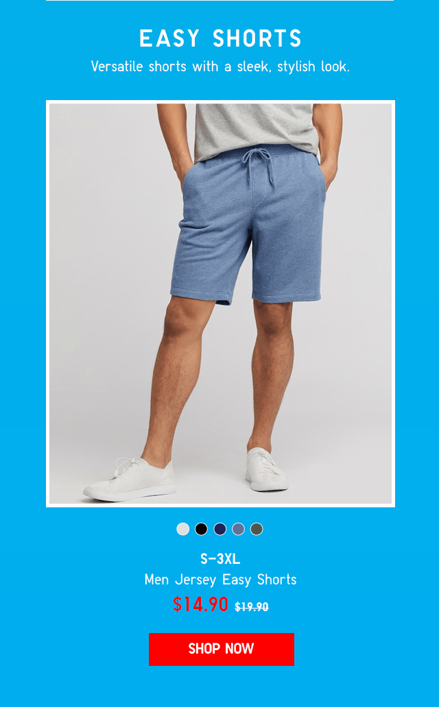 BODY4 - MEN JERSEY EASY SHORTS