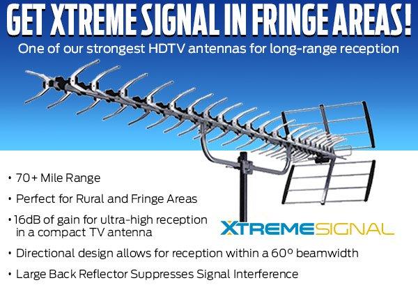 HDTV Fringe YAGI Antenna UHF VHF HIGH
