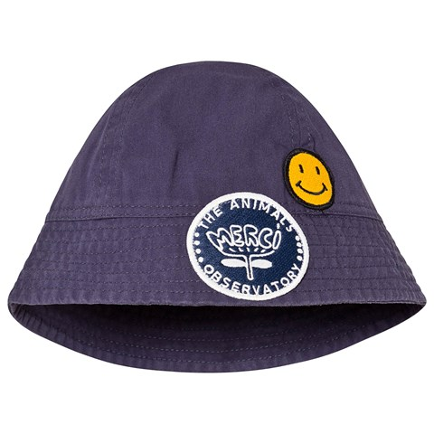 The Animals Observatory Navy Blue Starfish Babies Hat