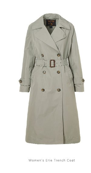 Women's Erie Trench Coat