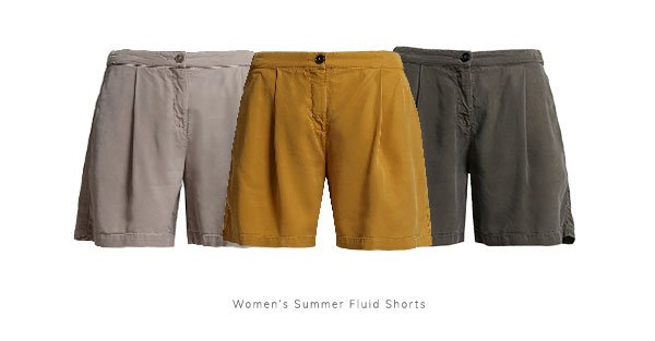 Women's Summer Fluid Shorts