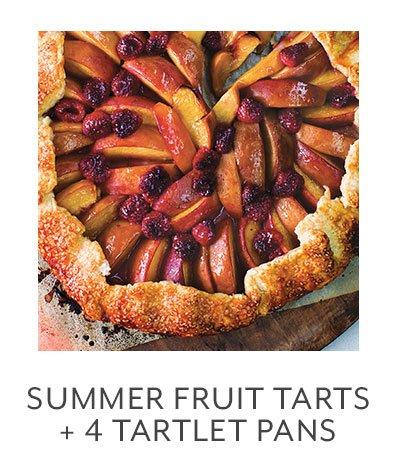 Class: Summer Fruit Tarts + 4 Tartlet Pans