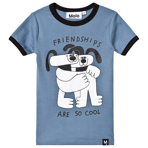 Molo Twilight Blue Radio T-Shirt
