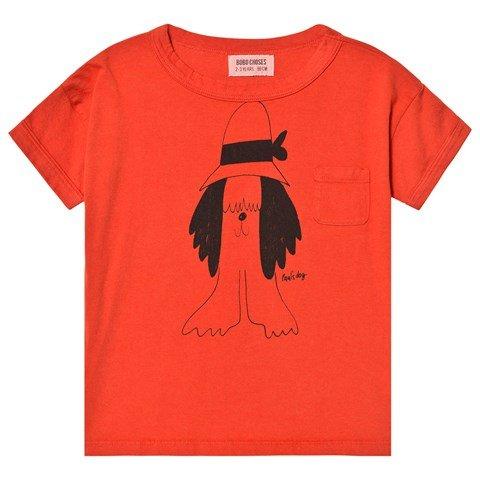 Bobo Choses Red Paul´s T-Shirt