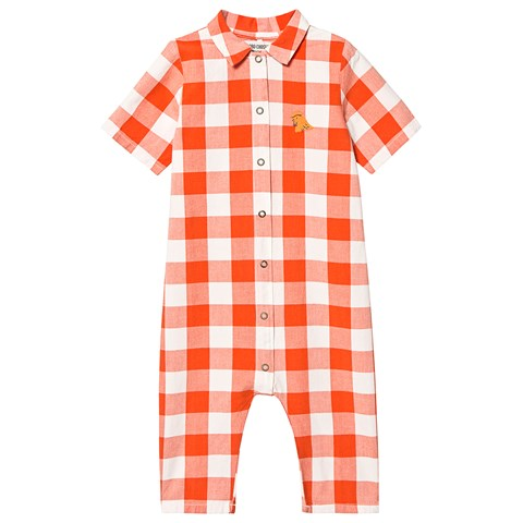 Bobo Choses Red Check Vichy Jumpsuit