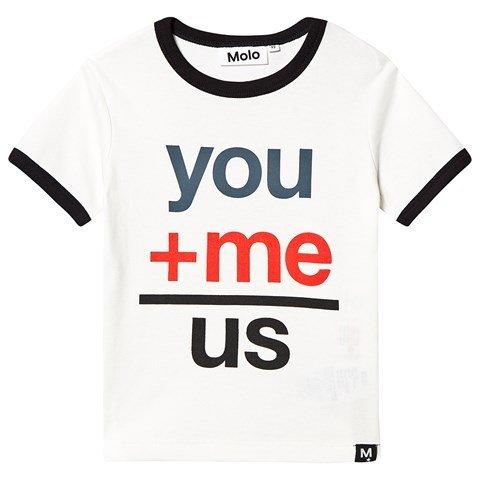 Molo White Star Radi T-shirt