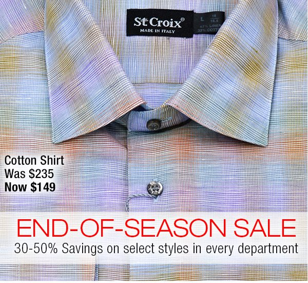 Linen and Cotton Shirt in Clearance - Style 6865