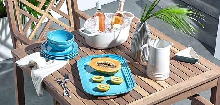 Bring Your Kitchen Outdoors With Le Creuset