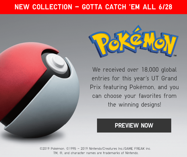 BANNER2 - PREVIEW NEW COLLECTION, POKEMON