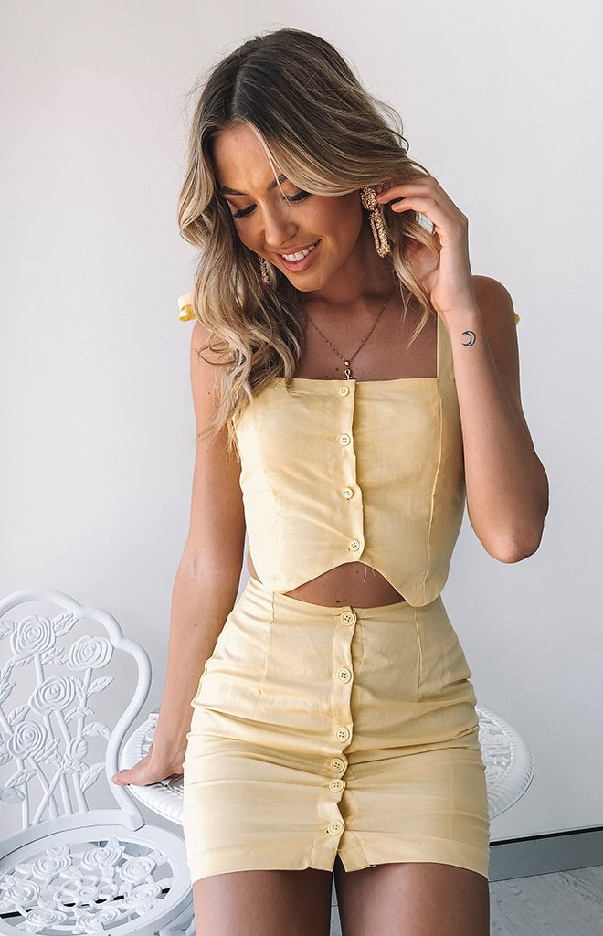 Spring Sun Skirt Yellow