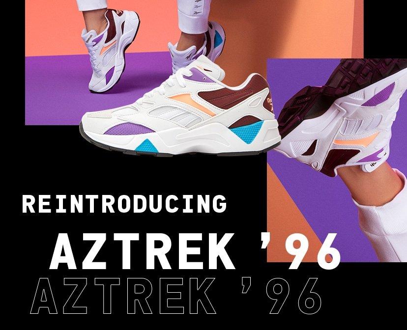 Interminable Sillón más  Reebok d/b/a Rockport: NEW: Aztrek '96 Reinvented | Milled