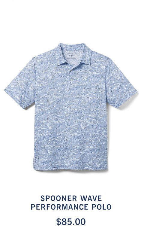 Spooner Wave Performance Polo