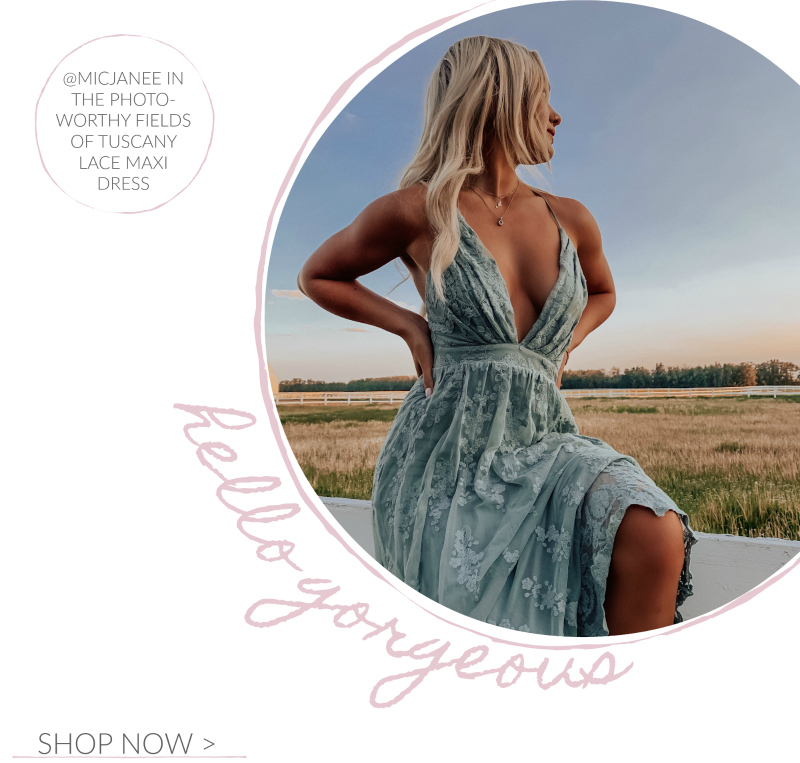 teal lace maxi dress
